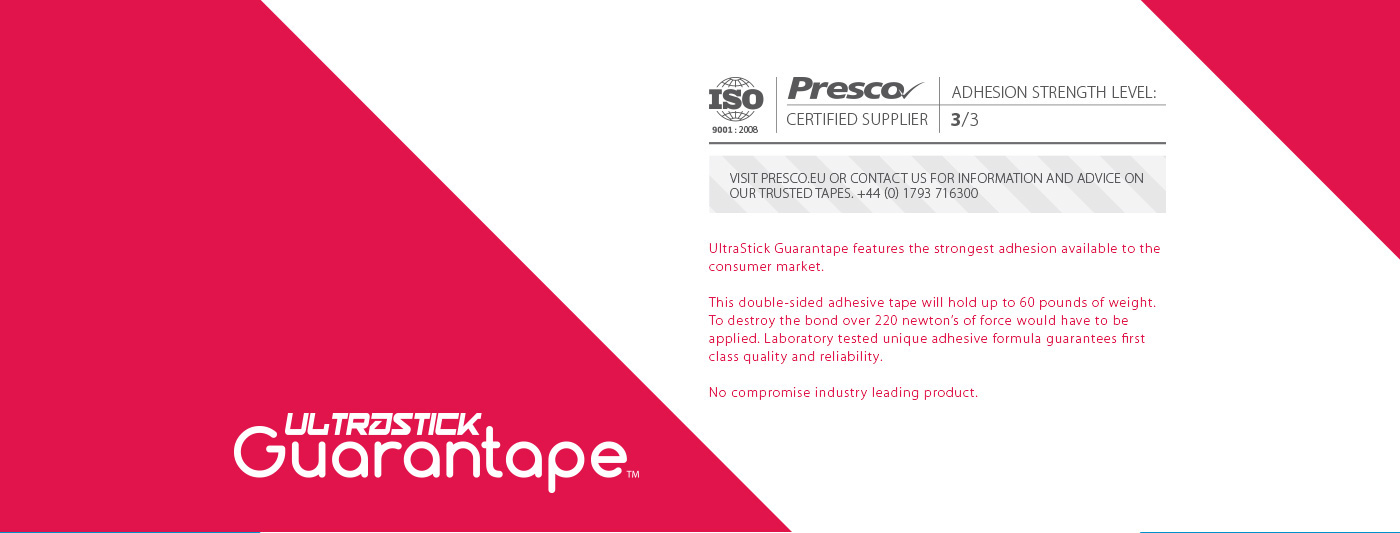 guarantape - tapes designed to be trusted 3