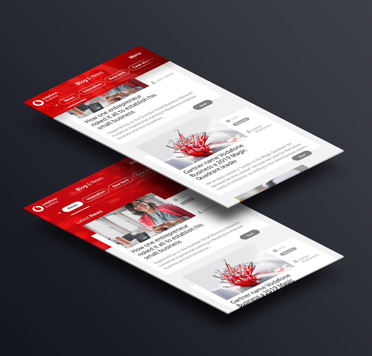 vodafone-business-content-blog-ui-prototype