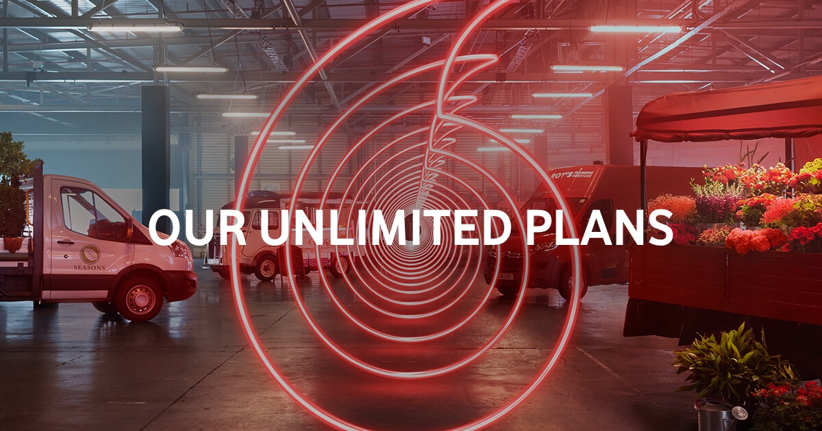 vodafone business - unlimited plans